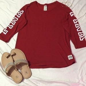 VS PINK Red Shirt 💕